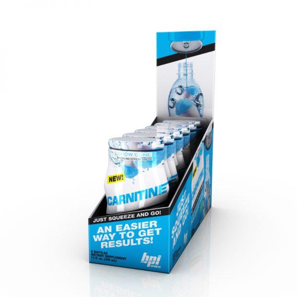 BPI Sports Carnitine Liquid Water Engancers 6 pack