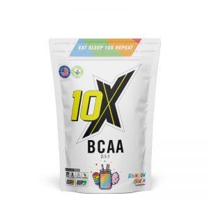10X Athletic Vegan BCAA Rainbow Crush